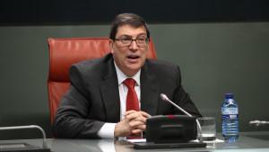 El ministro de Exteriores cubano niega que se produjeran movilizaciones.