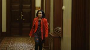 """Margarita Robles defiende el confinamiento y pide al TC """"sentido de Estado""""."""