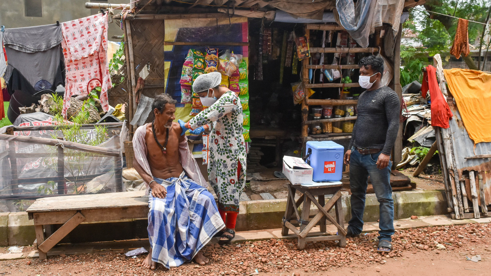 India roza el umbral de los 31 millones de contagios