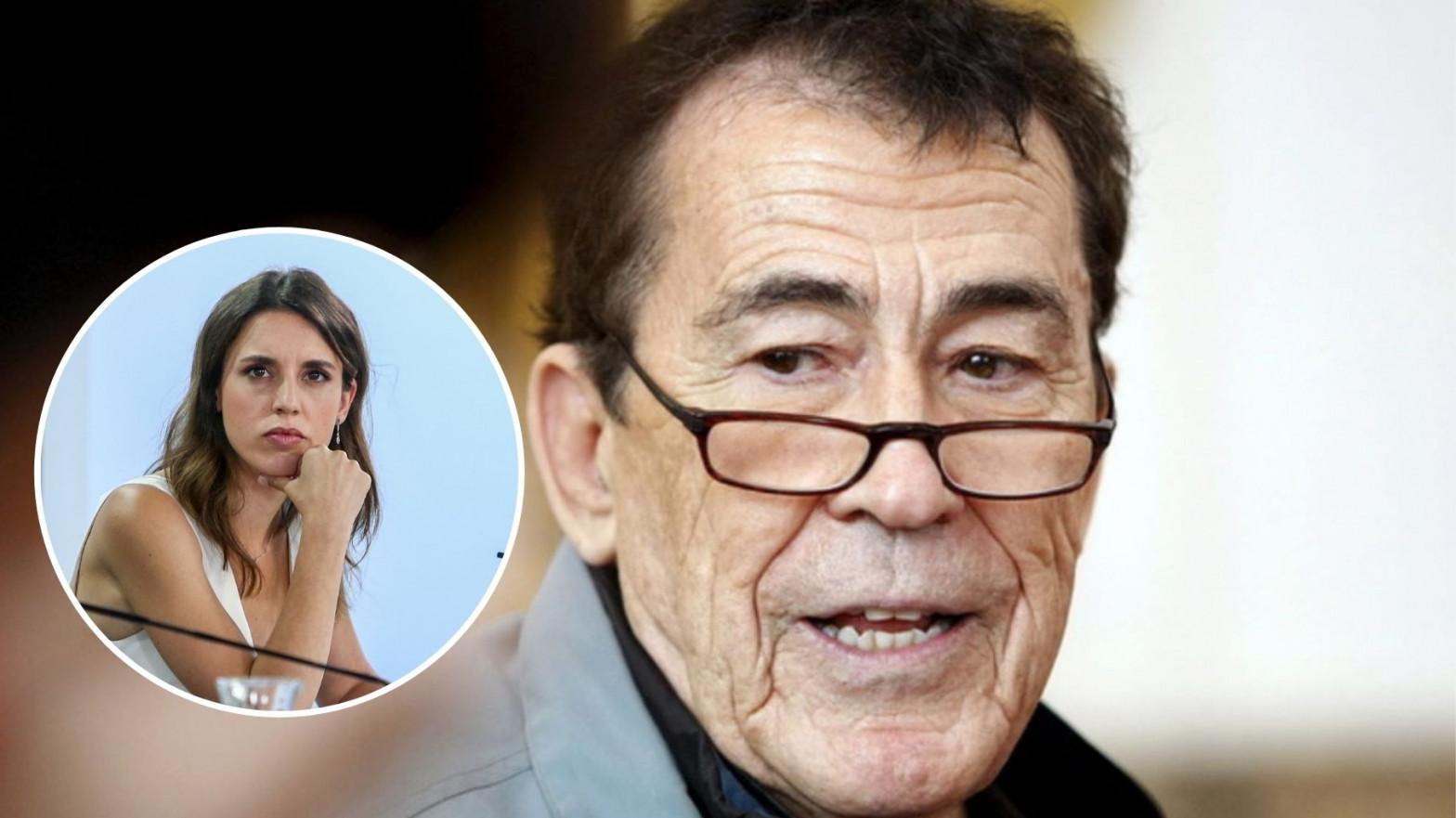 """Sánchez Dragó, a Irene Montero: """"Ninguna mujer me ha pedido que usara condón. Métase en sus asuntos y no en nuestras alcobas"""""""