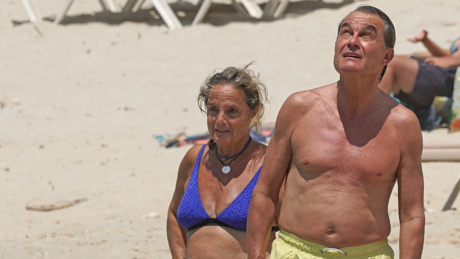 Artur Mas y su mujer Helena, de vacaciones en 2019