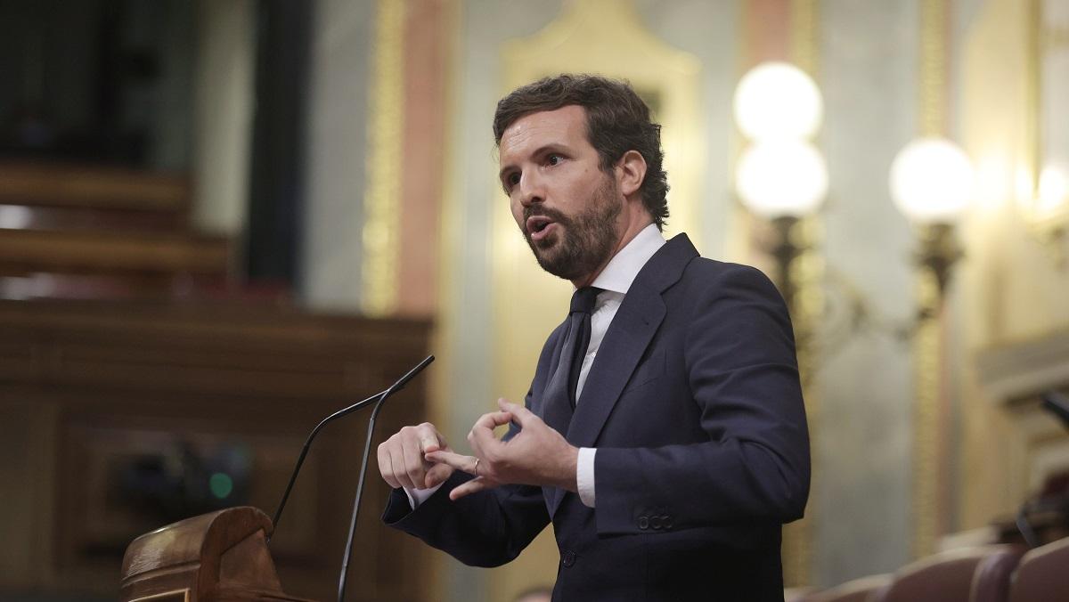 Casado anuncia que cinco miembros del PP presentarán un recurso contra los indultos