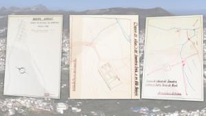 Croquis inéditos de algunos de los cementerios con españoles enterrados en Marruecos