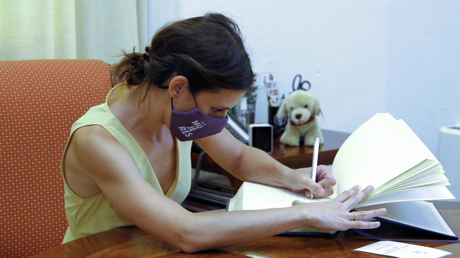 La exgerente y el tesorero de Podemos declaran por el 'caso niñera' de Irene Montero