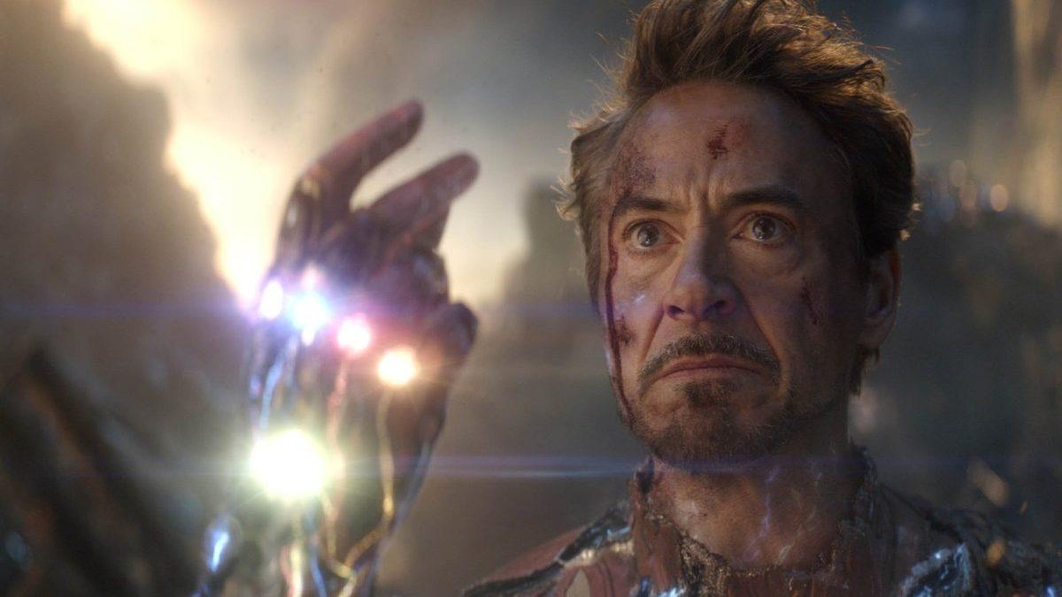 Robert Downey Jr. como Tony Stark en 'Los Vengadores: endgame'. Marvel.