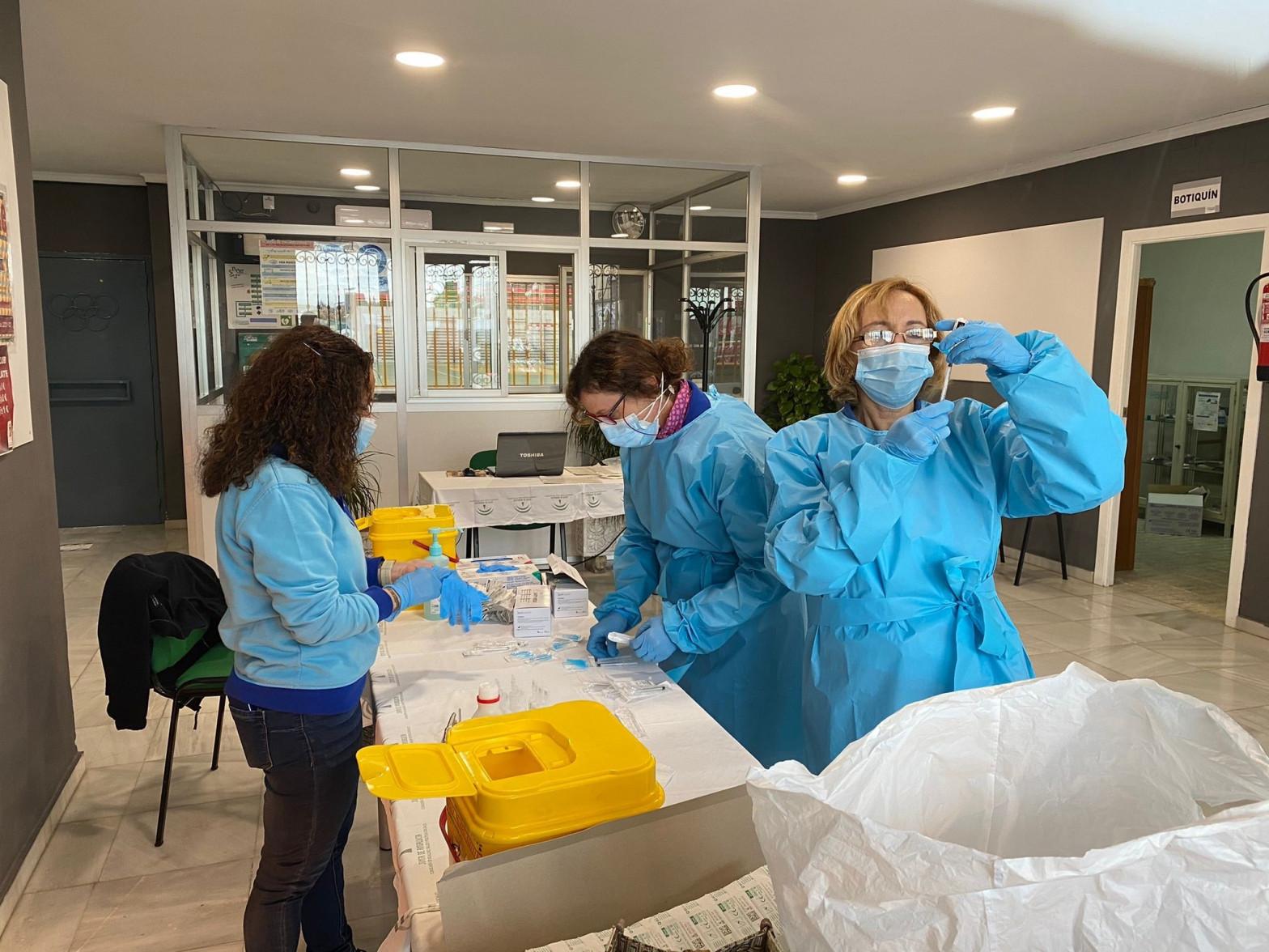 Se disparan un 20% los hospitalizados en Andalucía