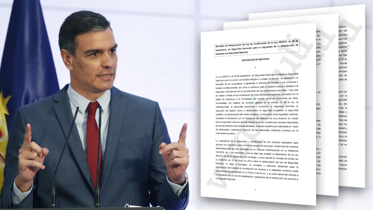 Sánchez Seguridad Nacional
