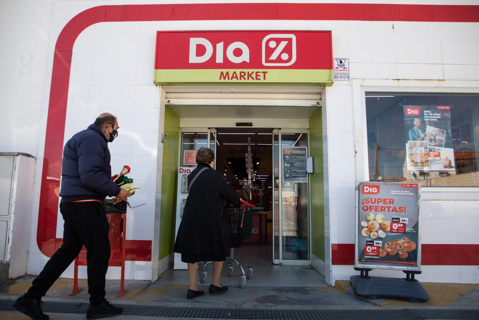 Un supermercado DIA en Carranque