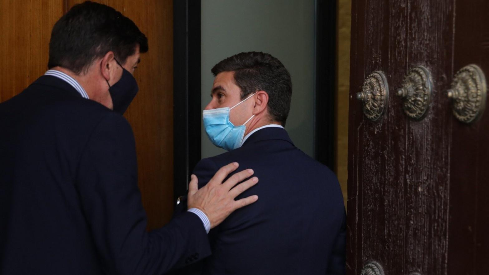 """Marín rodea de """"normalidad"""" el relevo de dos portavoces de Cs muy críticos con Sánchez"""