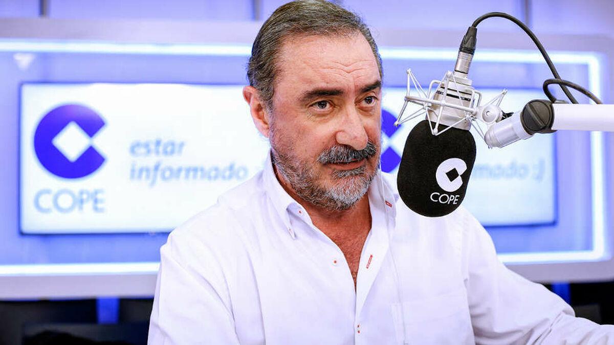"""Bronca de Carlos Herrera en directo a Fidalgo: """"Para decir tontunas quédate callado"""""""