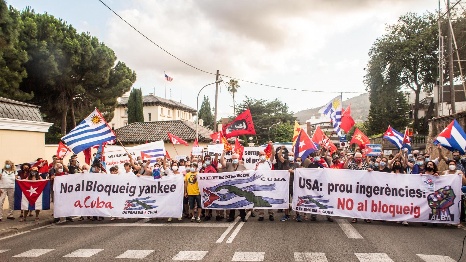 EEUU sanciona a los 'boinas negras' y a otros responsables dela represión de las protestas en Cuba