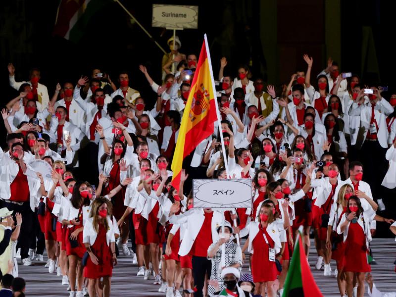 Jornada de inauguración de los Juegos Olímpicos de Tokio 2021