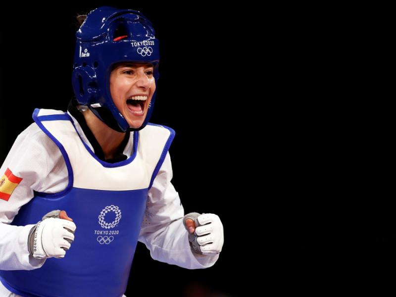 Adriana Cerezo asegura la primera medalla para España en taekwondo