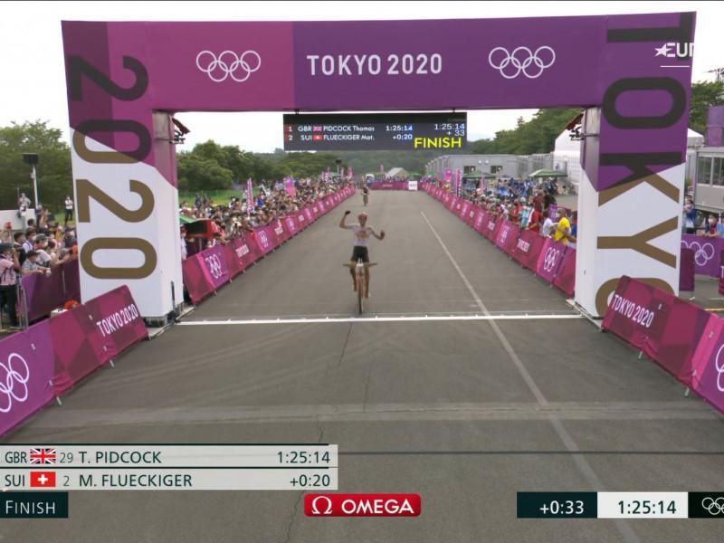 David Valero consigue la medalla de bronce en Ciclismo de montaña.