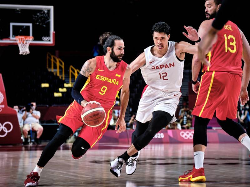 España despacha a Japón en su debut en los Juegos bajo la batuta de un gran Ricky Rubio