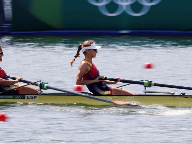 Virginia Díaz y Aina Cid pelearán por las medallas en el 'dos sin timonel'