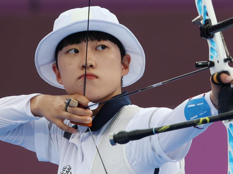 Una tiradora coreana es duramente criticada en su país por llevar el pelo corto