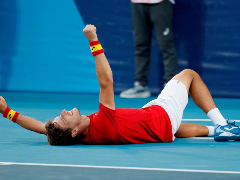 "Pablo Carreño: ""Este bronce contra Djokovic me sabe a título"""