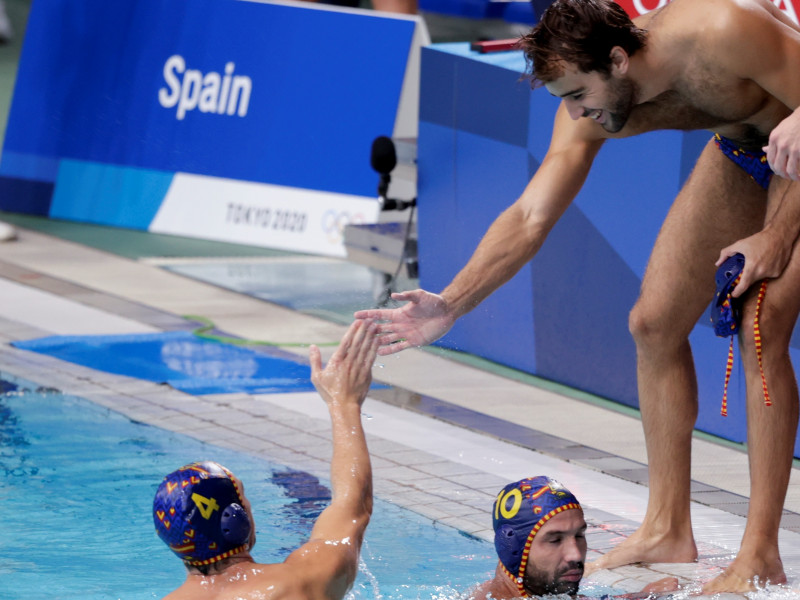 España gana (8-4) a Croacia para acabar líder y se enfrentará a Estados Unidos en cuartos