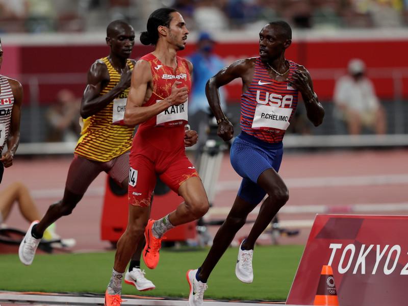 Mohamed Katir, a la final de los 5.000 m con el mejor tiempo de las semifinales