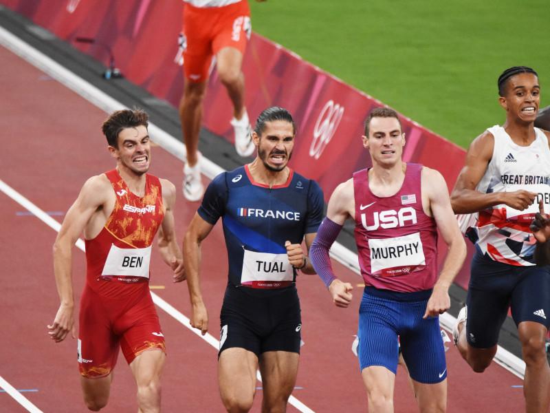 Adrián Ben firma un sensacional quinto puesto en la final de los 800 metros
