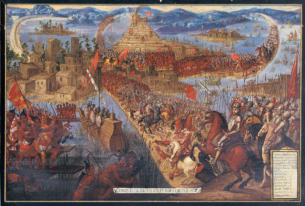 Caída de Tenochtitlán: 500 años de la conquista de Hernán Cortés Conquista-de-tenochtitlan