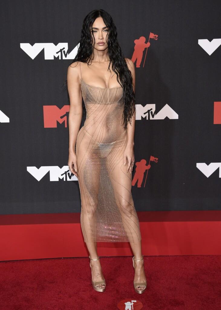 Las transparencias de Megan Fox la convierten en protagonista de los MTV VMA