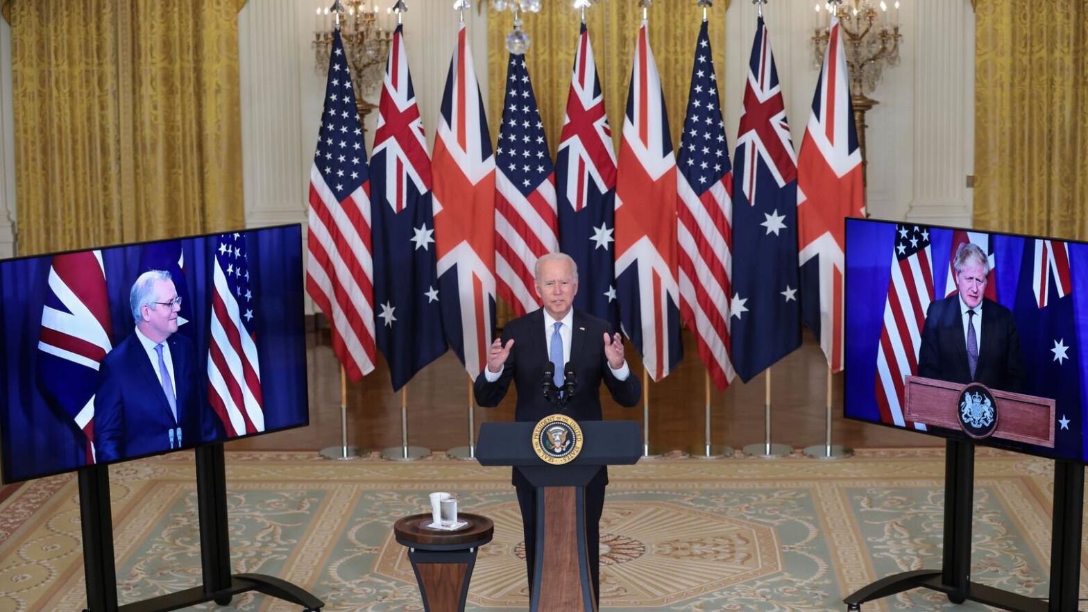 La alianza Aukus: la 'guerra fría' de EEUU contra China por la nueva ruta de la seda
