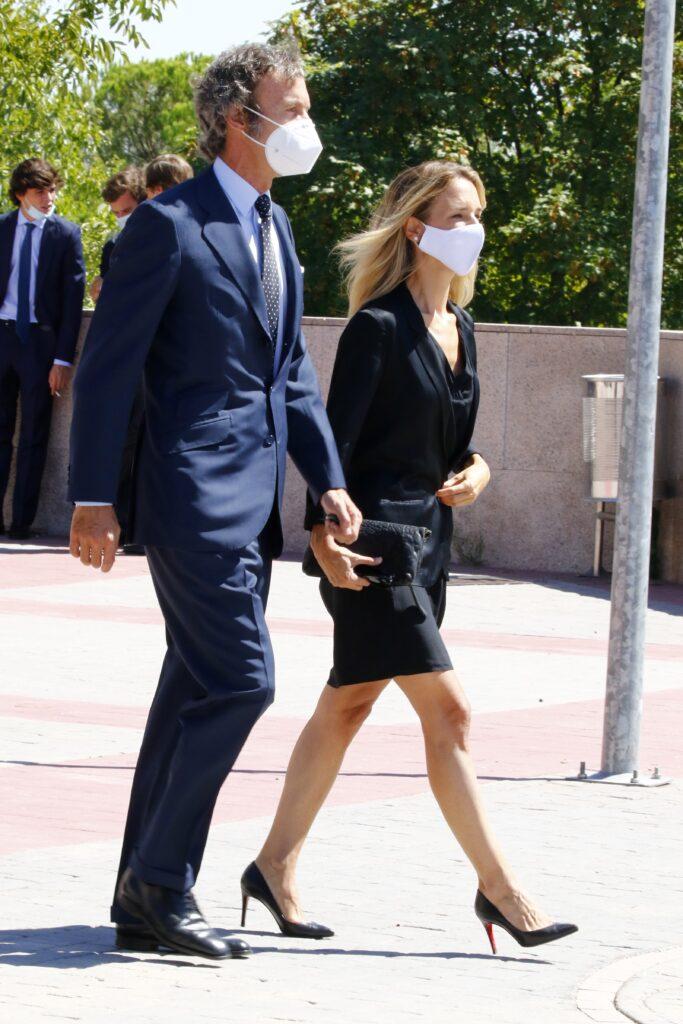 Joaquín Güell und seine damalige Frau Cayetana Álvarez de Toledo